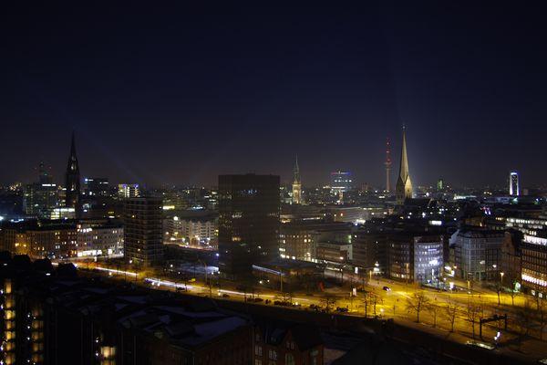 Hamburg vom SPIEGEL Dach 4