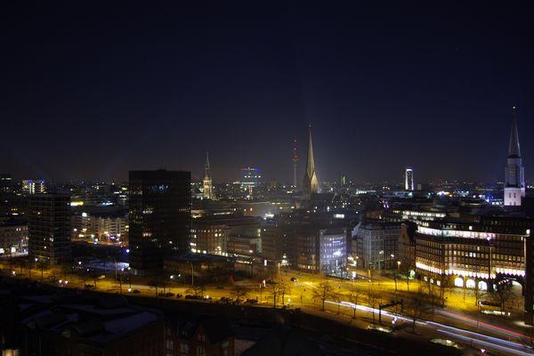 Hamburg vom SPIEGEL Dach