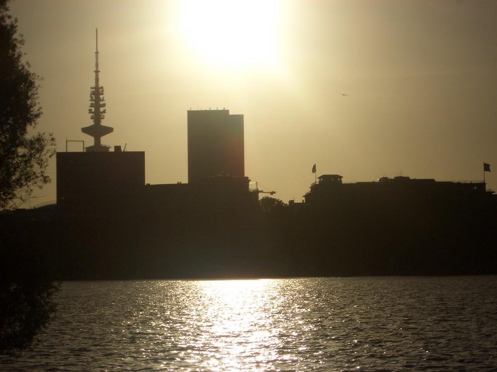 Hamburg von der Alster