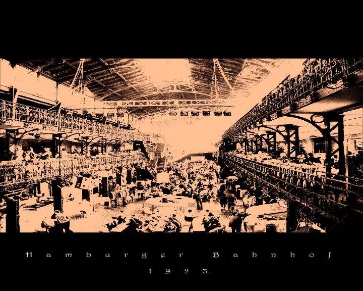 Hamburger Bahnhof 1923