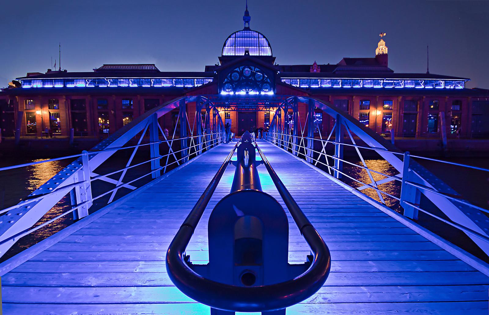 Hamburger Fischmarkt Blue Port 2010