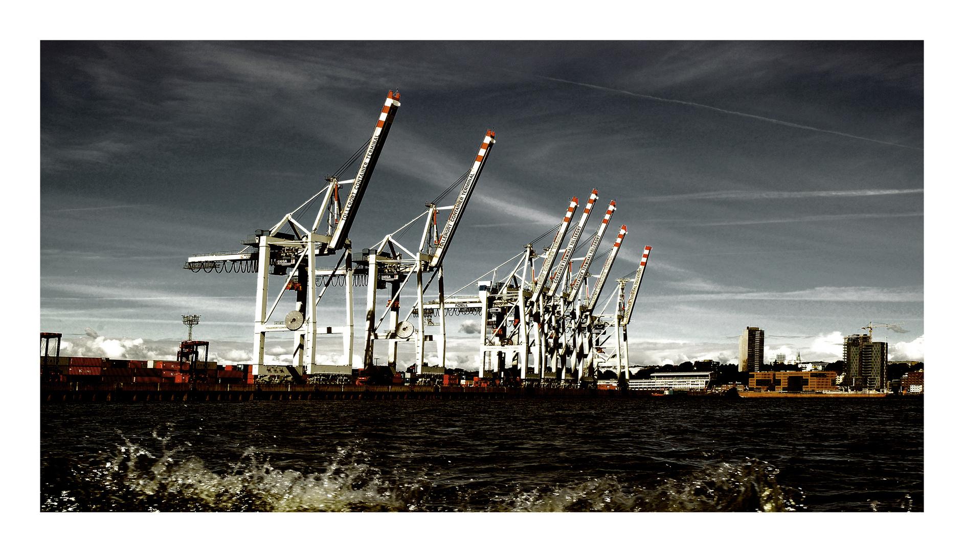 Hamburger Hafen / 2010