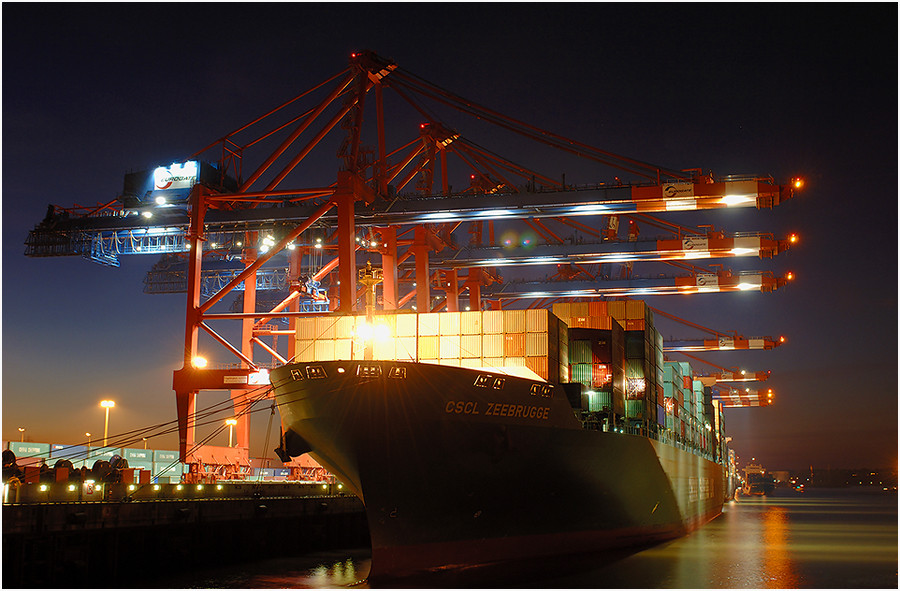 Hamburger Hafen - China Shipping Line II