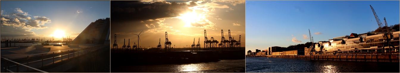 Hamburger Hafen die erste