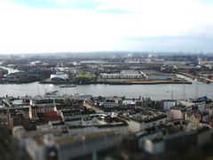 Hamburger Hafen - Tilt Shift
