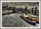 Hamburger Hafen unter Eis