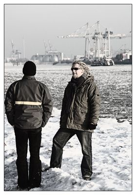- Hamburger Jungs im Winter -