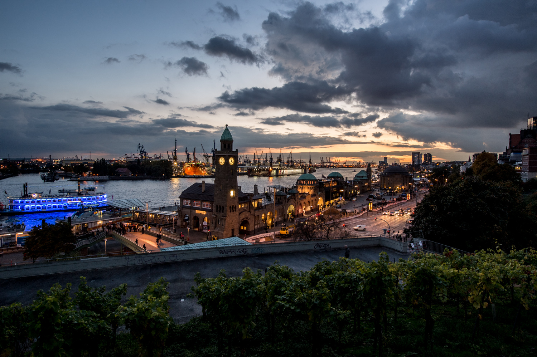 Hamburger Landungsbrücken