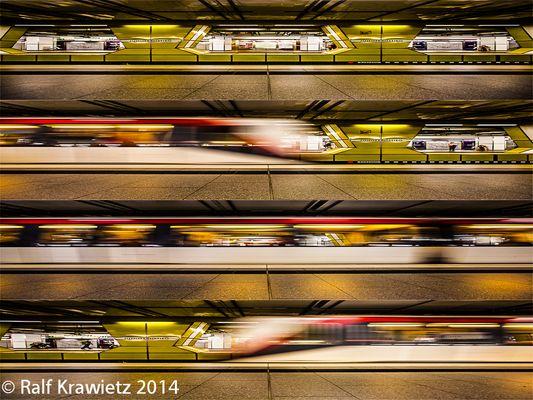 Hamburger Unterwelt, U-Bahn, Jungfernstieg