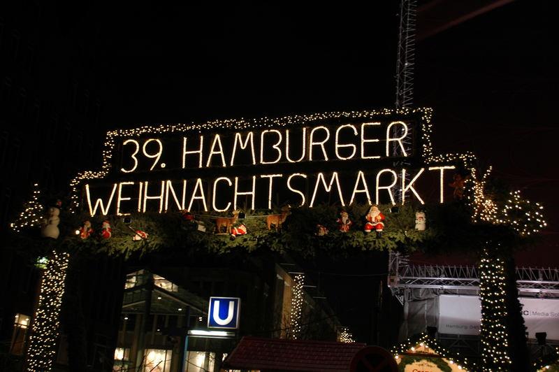 Hamburger Weihnachtsmarkt 2006