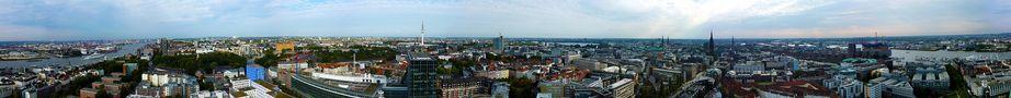 Hamburgpanorama von Stephan Rose