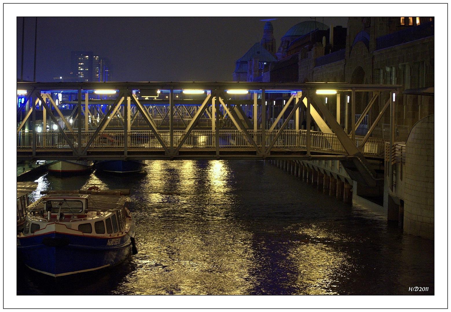 Hamburgs Landungsbrücken