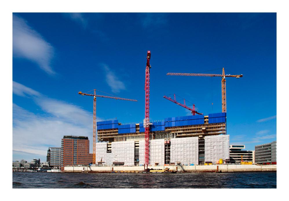 Hamburgs teuerste Baustelle...