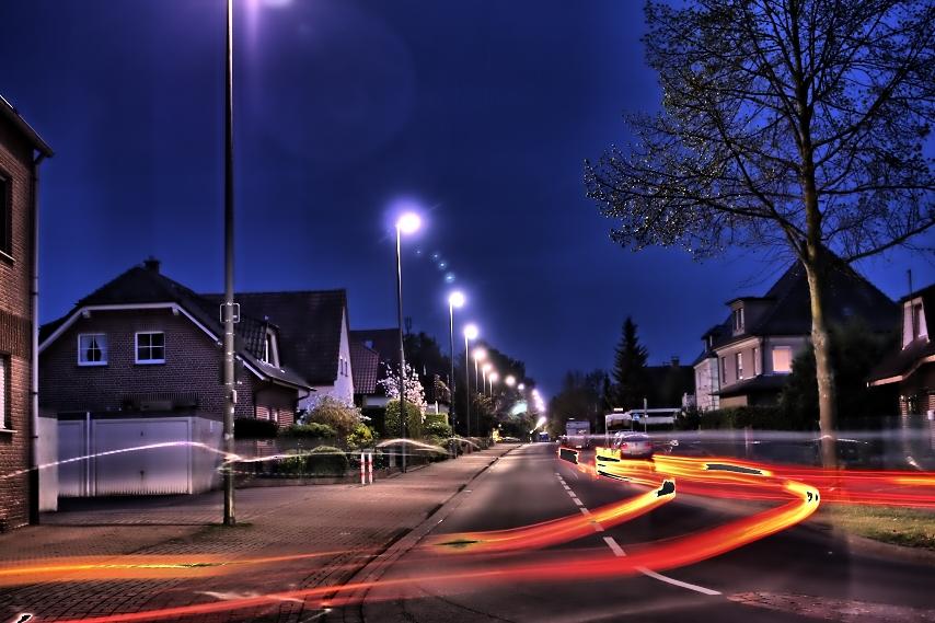 Hamm Lohhauserholz bei nacht
