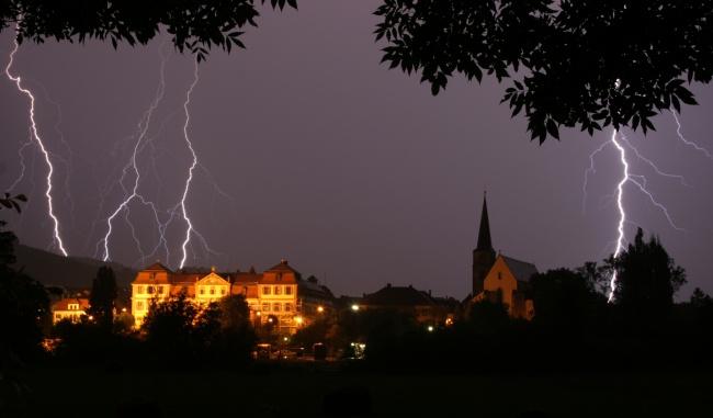 Hammelburg unter Beschuss