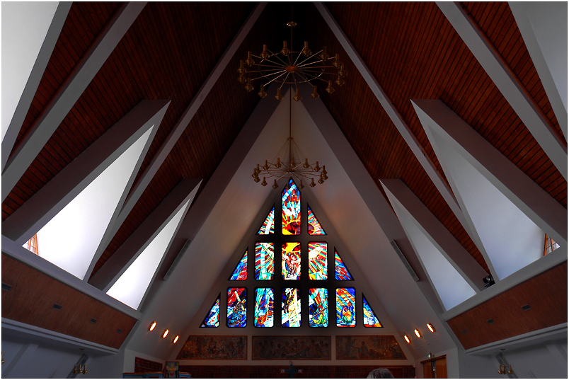 Hammerfest - Evang. Kirche innen