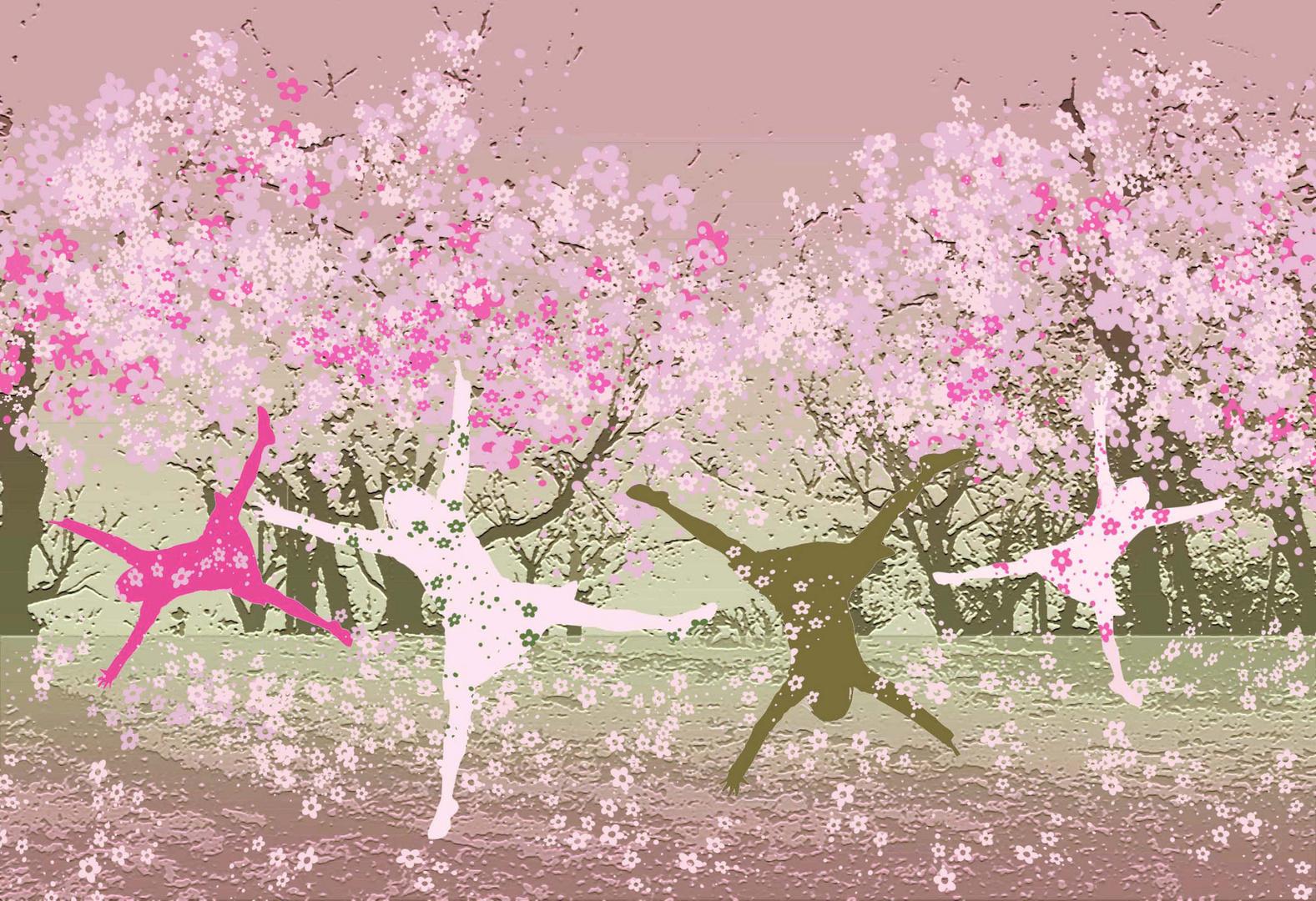 Hanami - Kirschblütenfest in Japan
