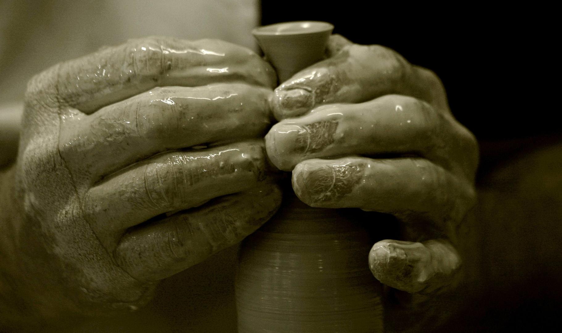 Hand - Arbeit (I)