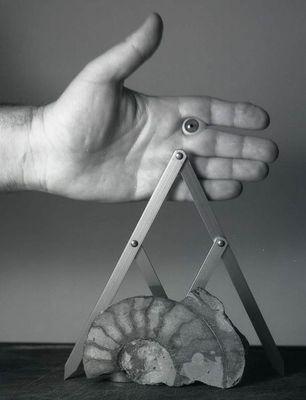 Hand mit Auge