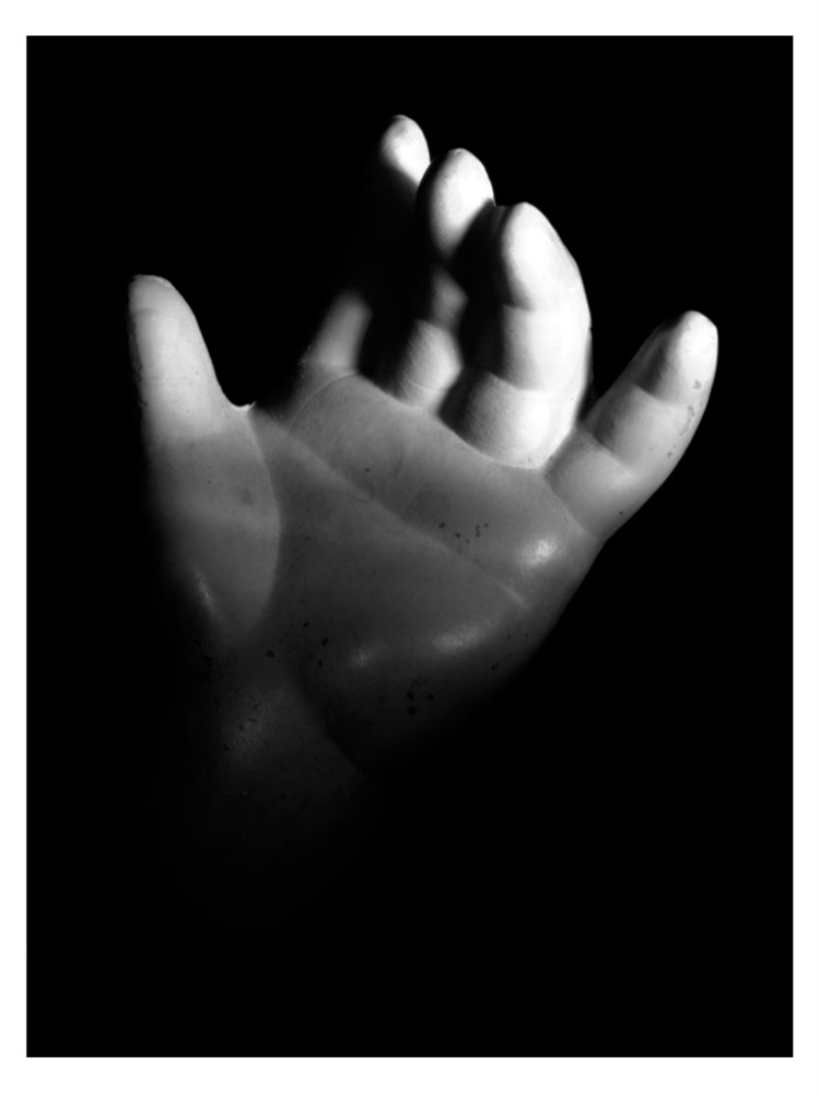 Hand of a doll