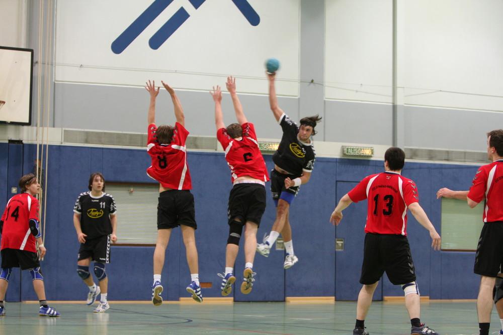 Handball die 2.te