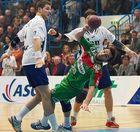Handball: einen Schritt zu spät...