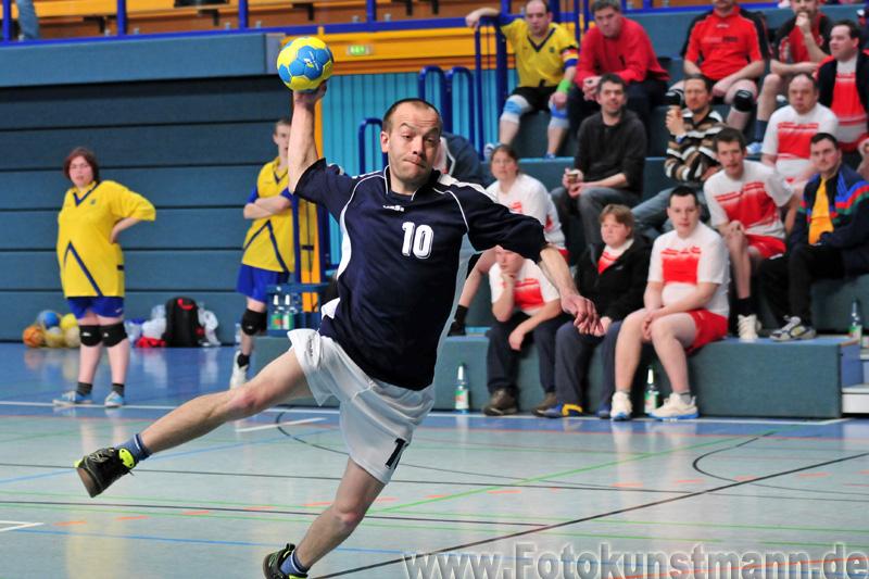 Handball Turnier der WfbM