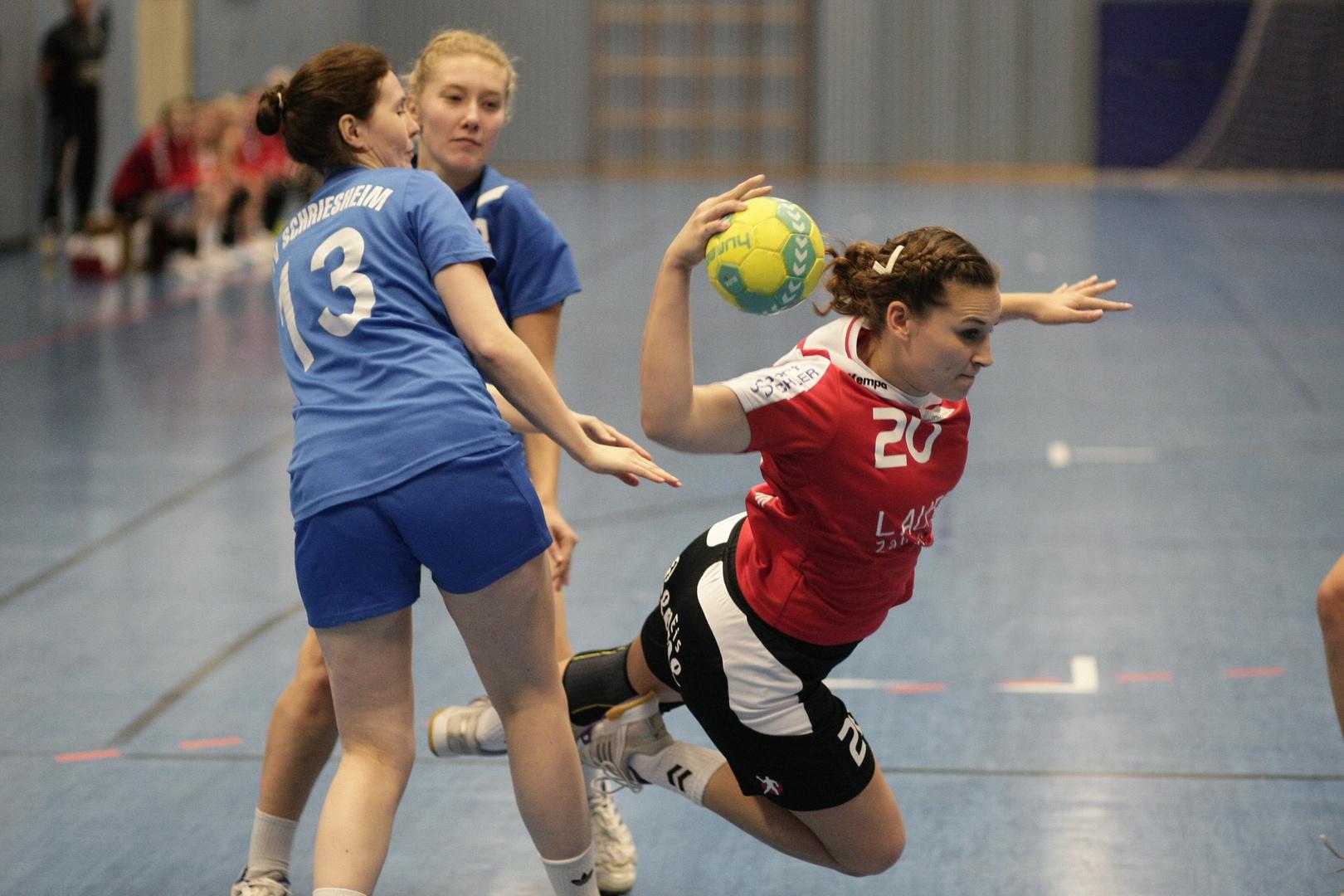 Handballsport - Angriff 5