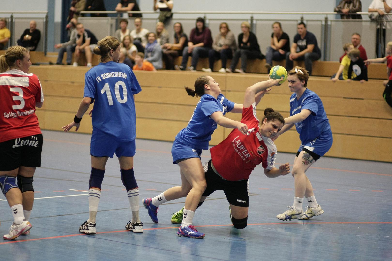 Handballsport - Angriff 6
