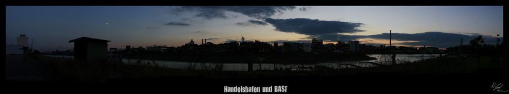 Handelshafen und BASF