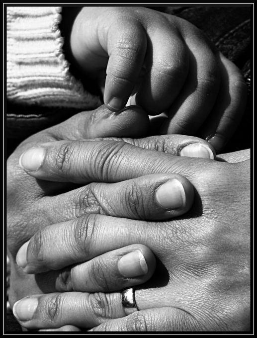 hands...