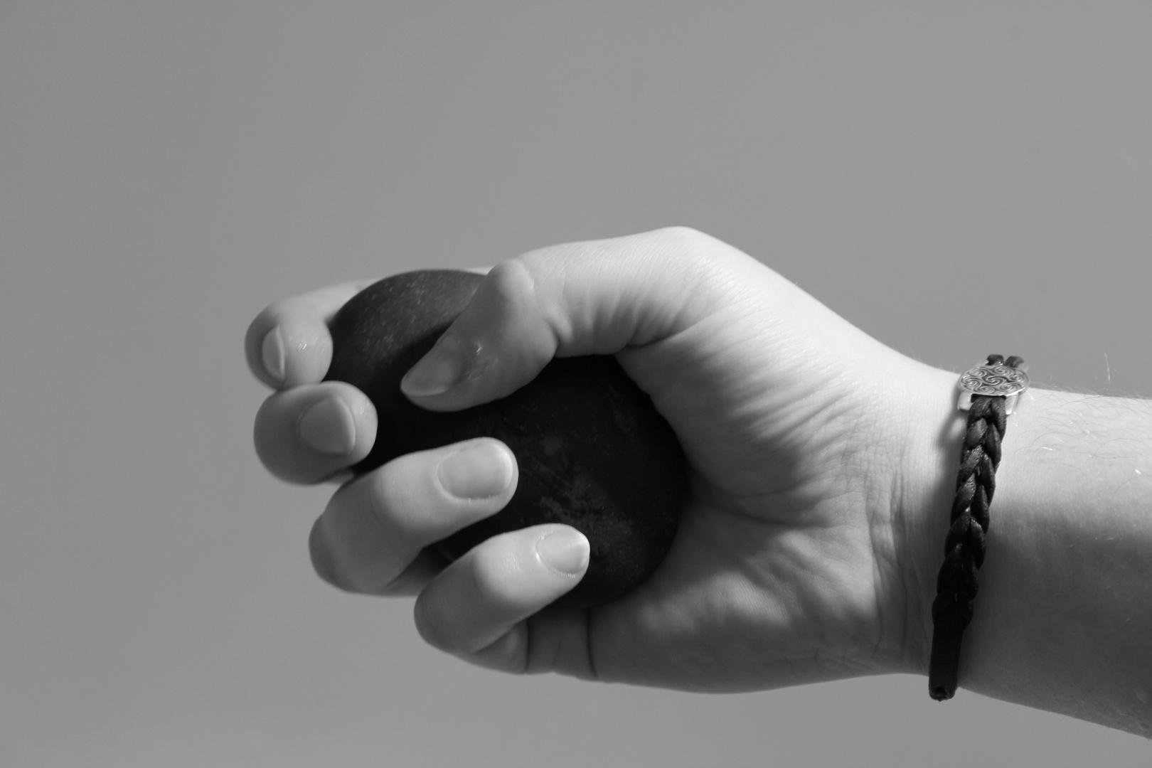 Hands and Stone III