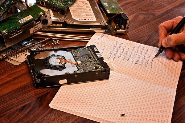 Handschriftliche Sicherheitskopie