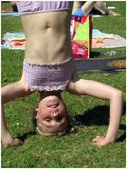 Handstand...