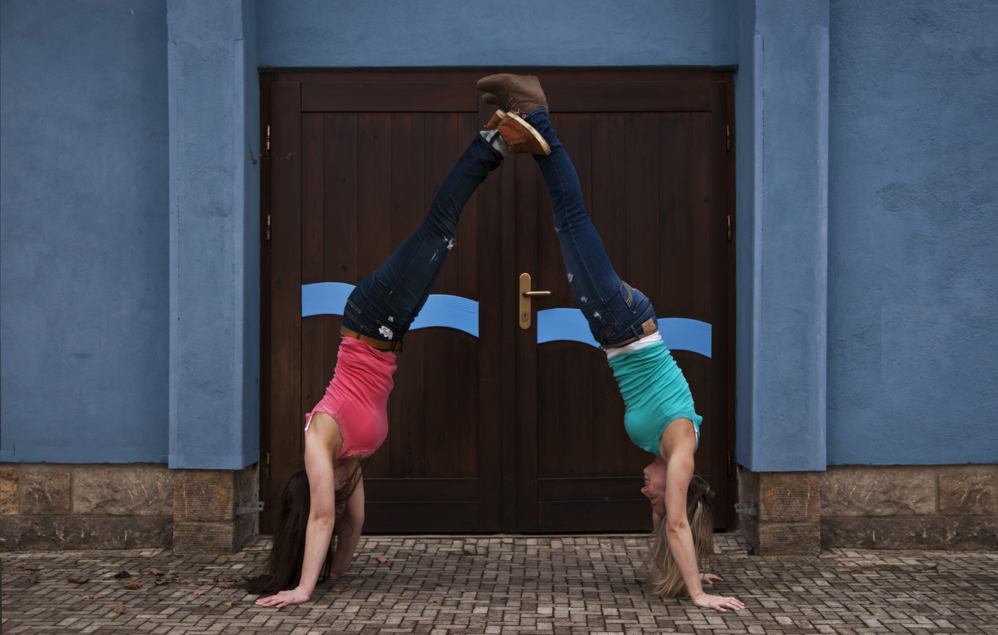 Handstand double
