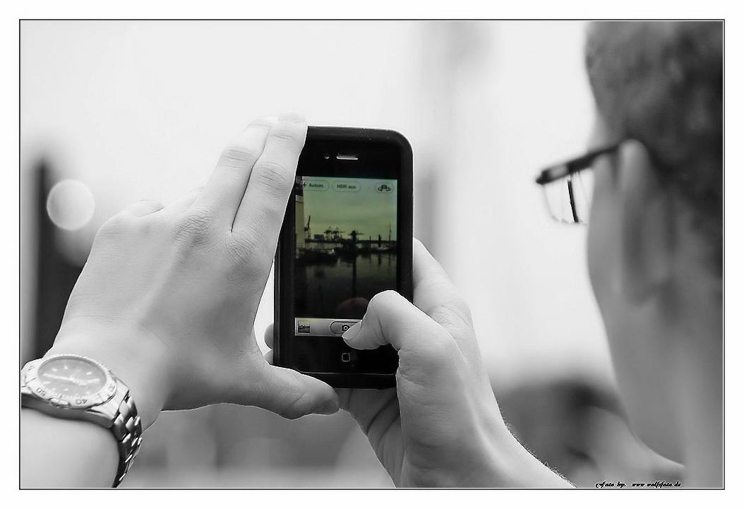 Handy-Fotograf