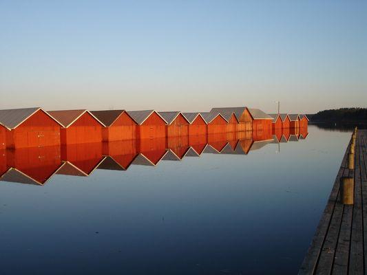 hangars bateaux finlande
