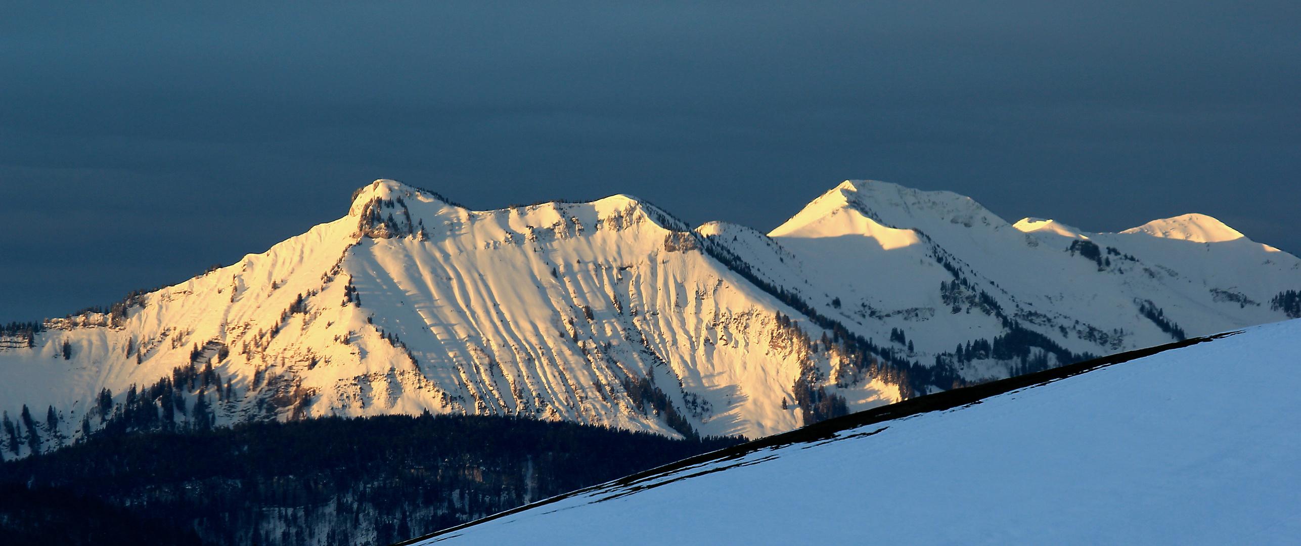 Hangspitze im Morgenlicht