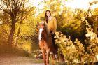 Hanna mit Pony