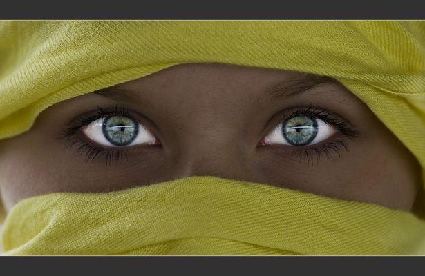 Hannas Augen
