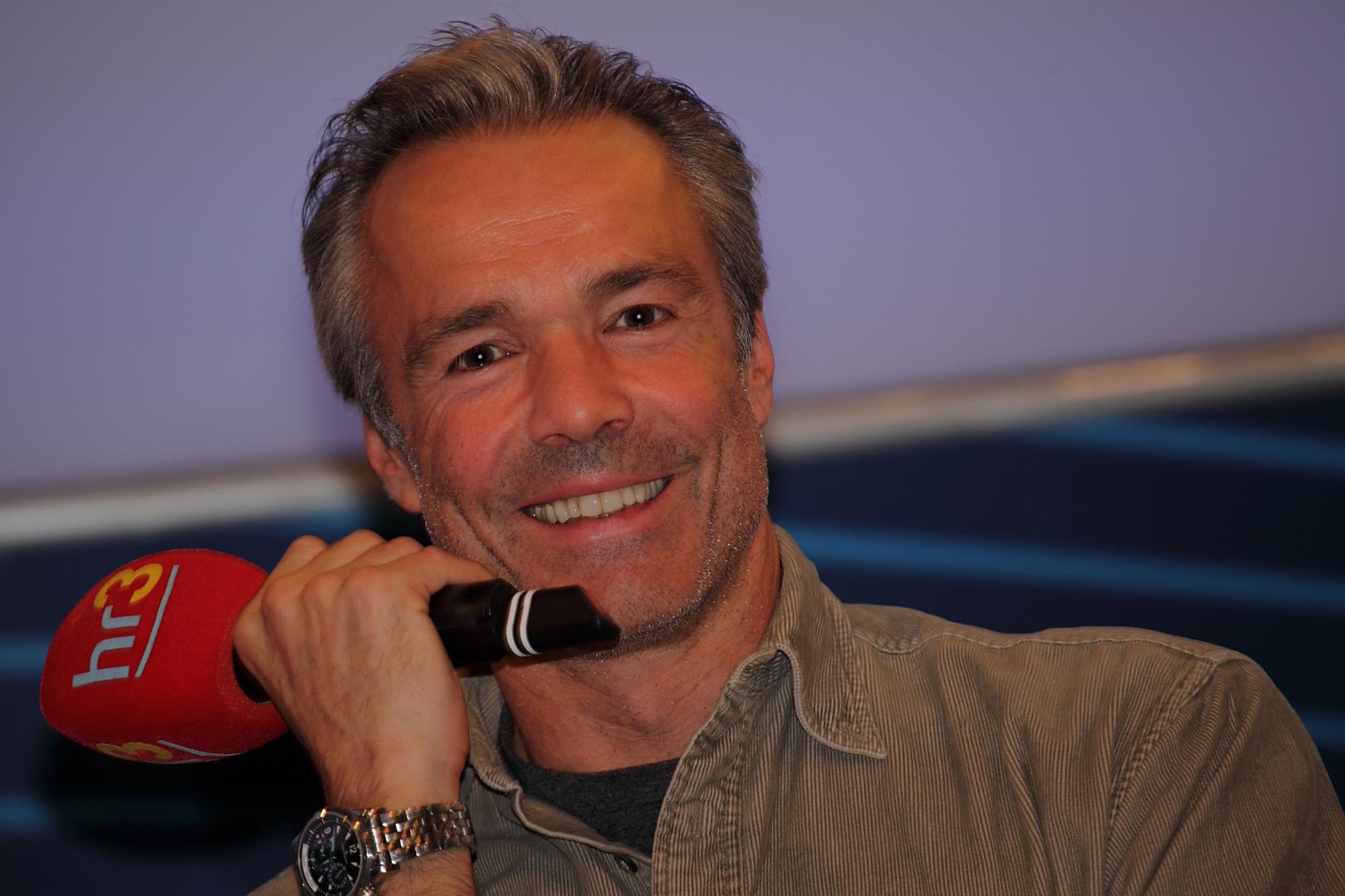 Hannes Jaenicke auf der Buchmesse Frankfurt