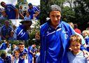 Hannes trifft die Spieler von Schalke 04 von Wundervoll