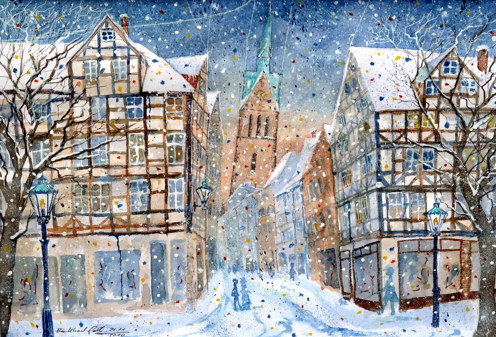 Hannover Am Holzmarkt, mit Marktkirche
