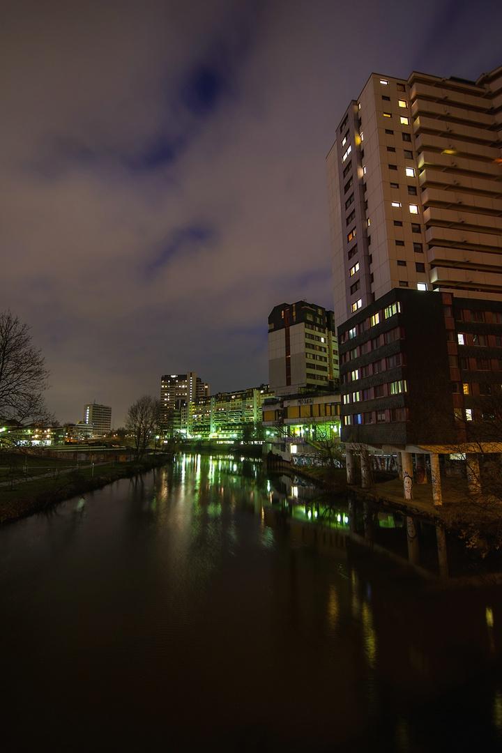 Hannover bei Nacht
