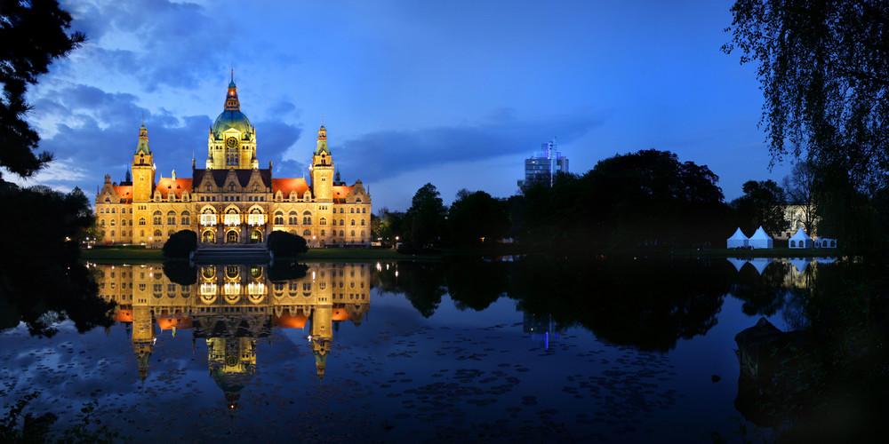 Hannover, das Rathaus