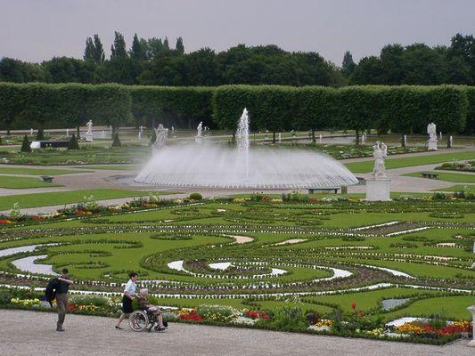 Hannover Herrenhausen im Juli