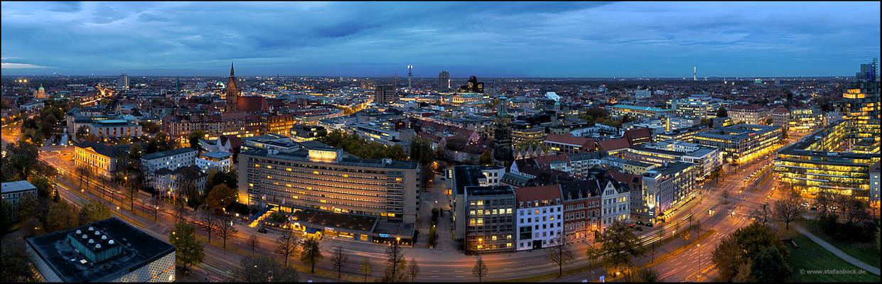 Hannover Nachtpanorama 2011