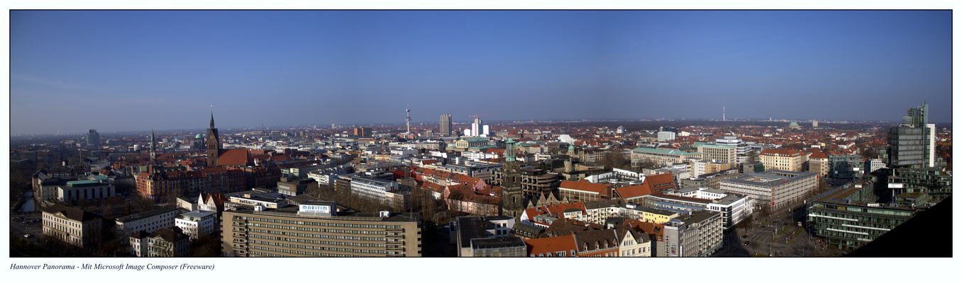 Hannover Panorama.
