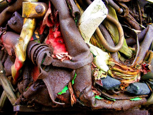 Hannover - Plastik am Leineufer