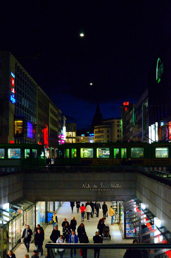 Hannover...Streetfotografie...Lowlight...02.02.2013